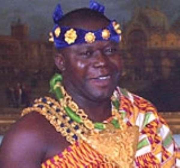 Otumfuo donates ¢100m to Seikwa development fund
